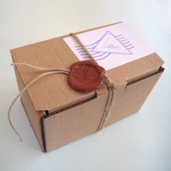 Подарки с сургучными печатями