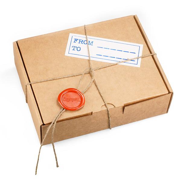 Коробка для посылки своими руками